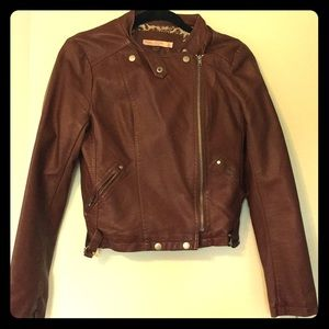 Really cute brown jacket! Perfect w/dresses!!